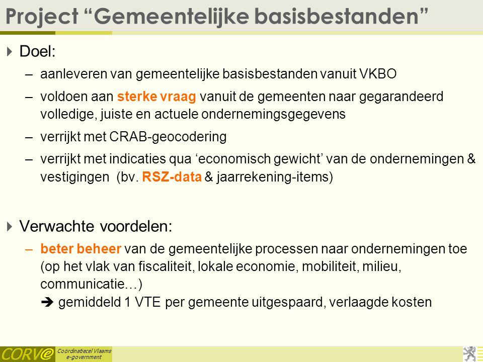 Project Gemeentelijke basisbestanden