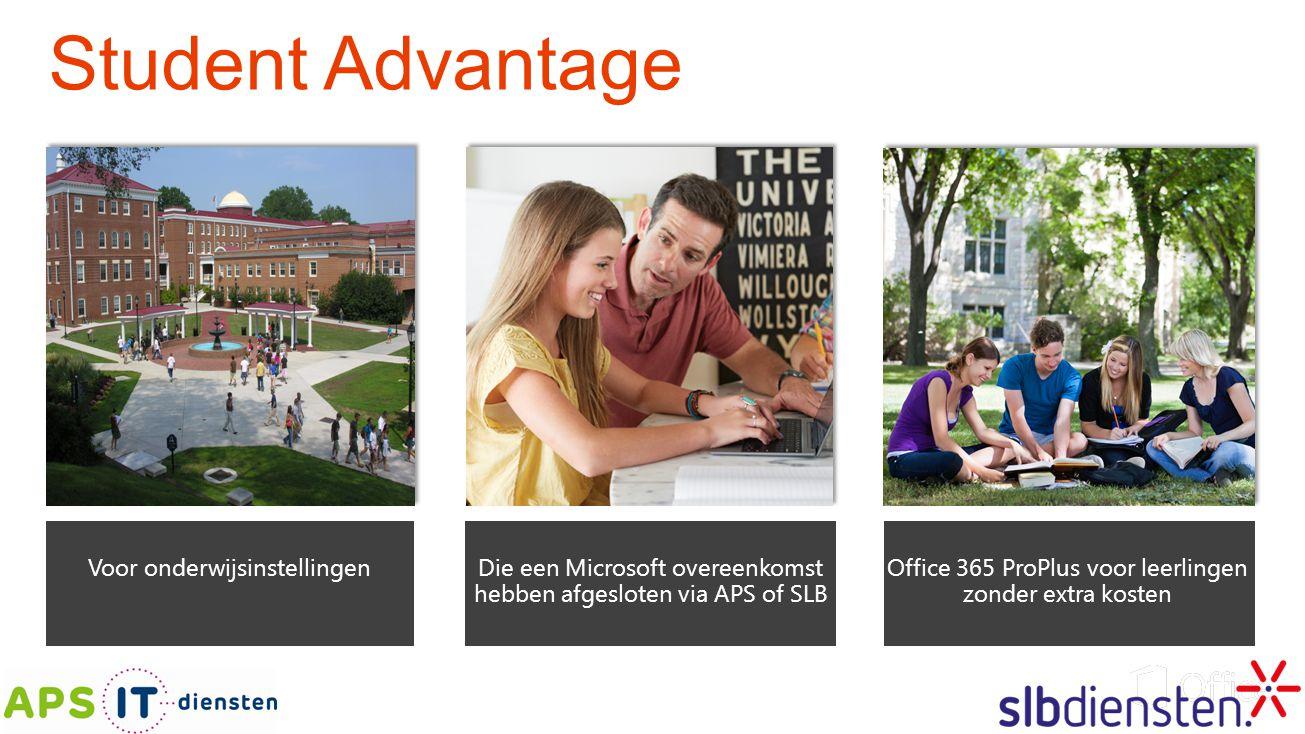 Student Advantage Voor onderwijsinstellingen