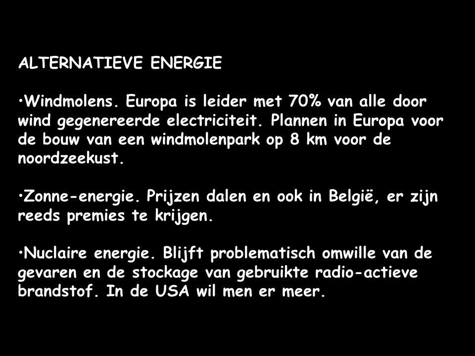 ALTERNATIEVE ENERGIE