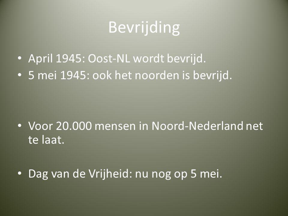 Bevrijding April 1945: Oost-NL wordt bevrijd.
