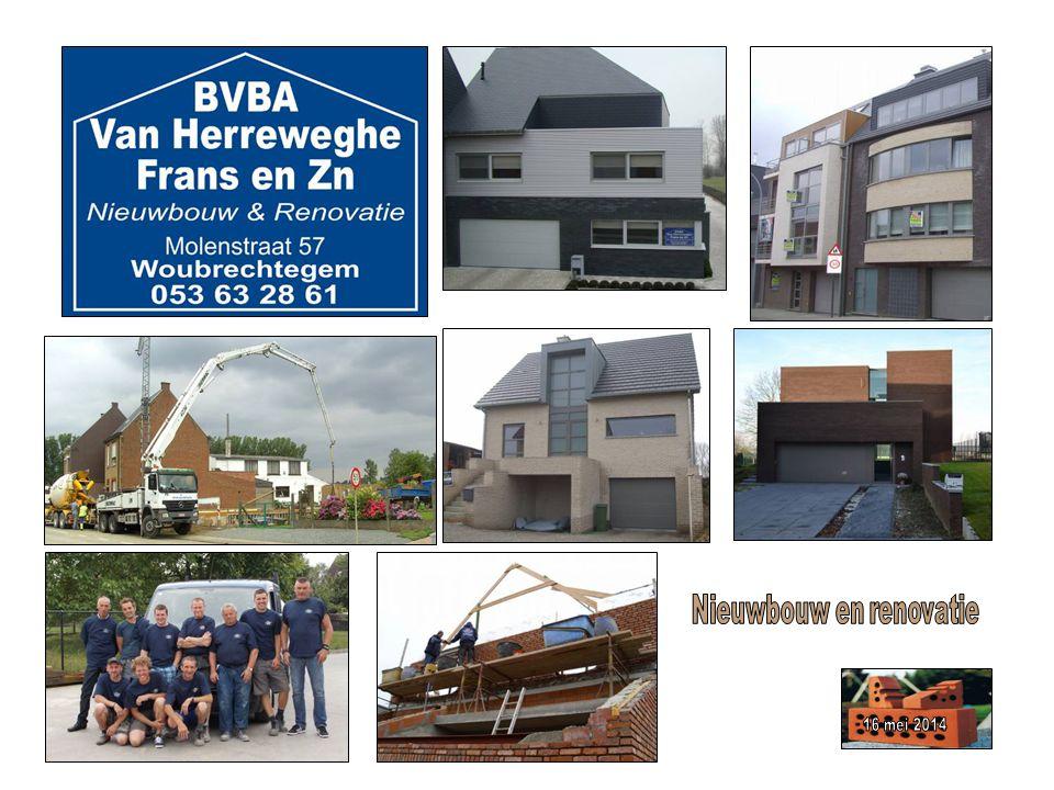 Nieuwbouw en renovatie