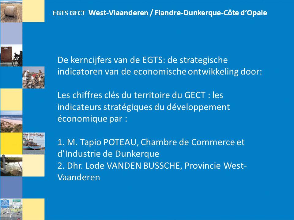 1. M. Tapio POTEAU, Chambre de Commerce et d'Industrie de Dunkerque