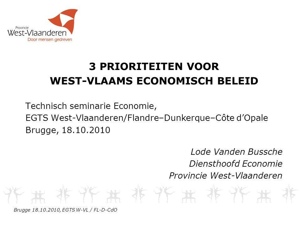 West-Vlaams economisch beleid