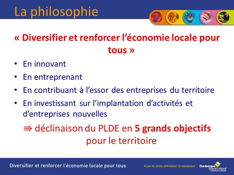 « Diversifier et renforcer l'économie locale pour tous »