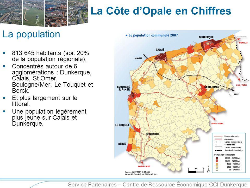 La population 813 645 habitants (soit 20% de la population régionale),