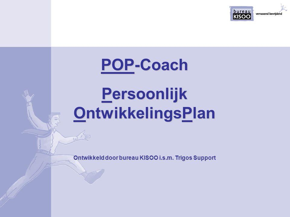 POP-Coach Persoonlijk OntwikkelingsPlan