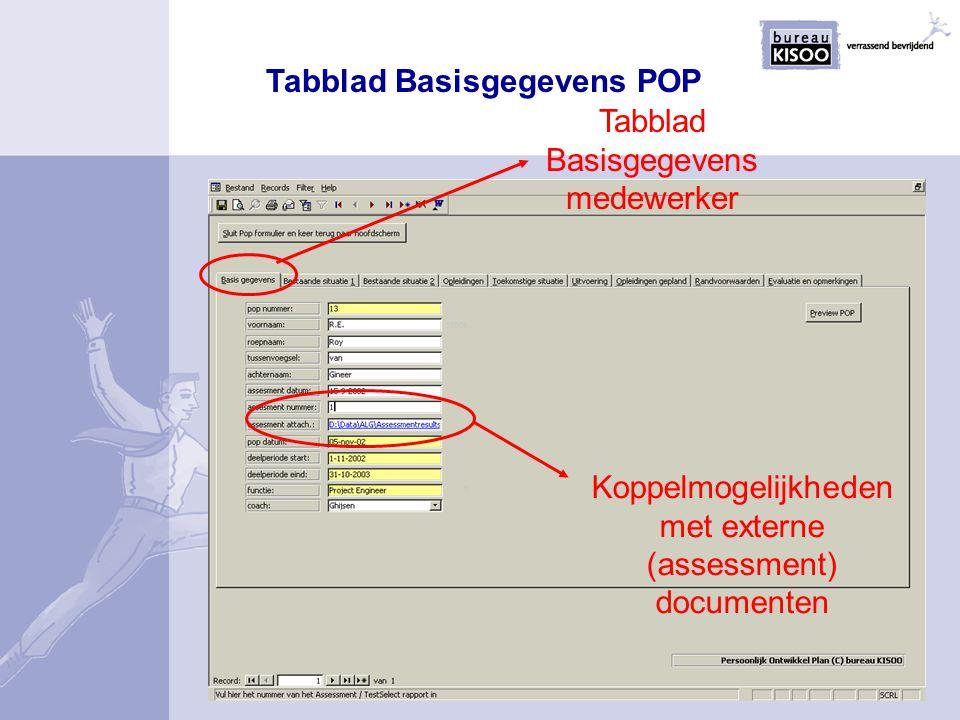 Tabblad Basisgegevens POP