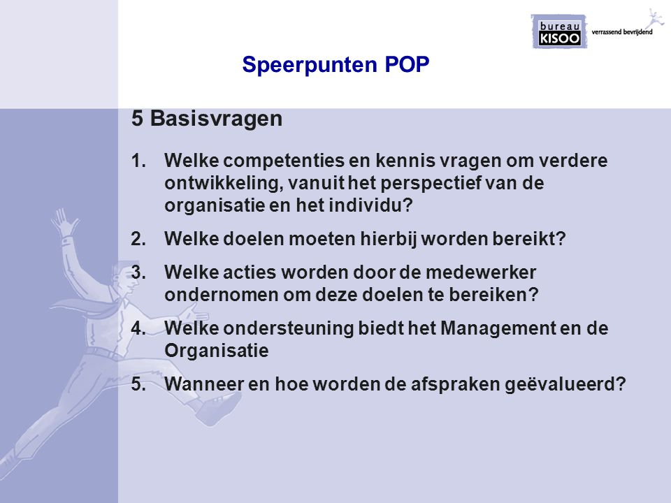 Speerpunten POP 5 Basisvragen