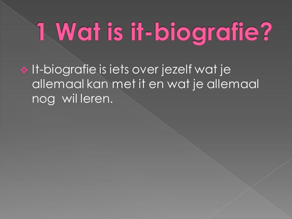 1 Wat is it-biografie.