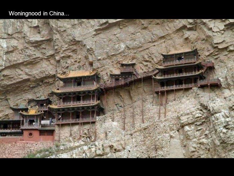 Woningnood in China...