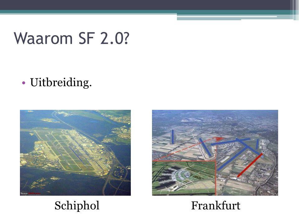 Waarom SF 2.0 Uitbreiding. Raymond Schiphol Frankfurt