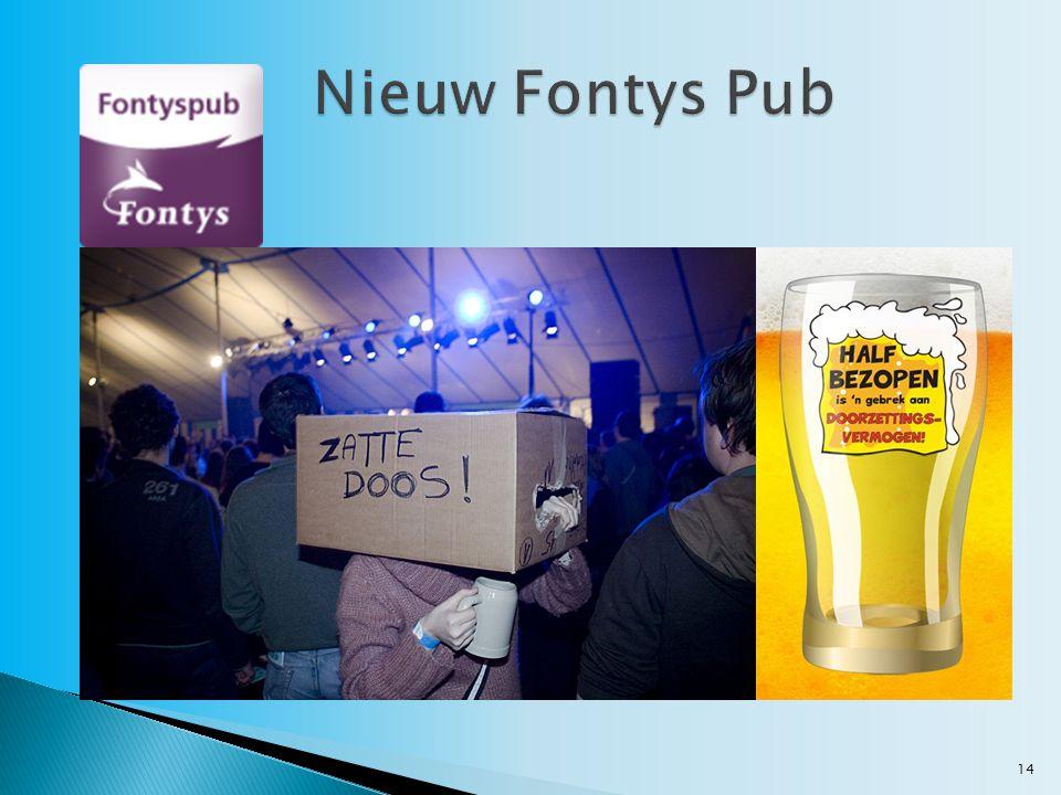 Nieuw Fontys Pub
