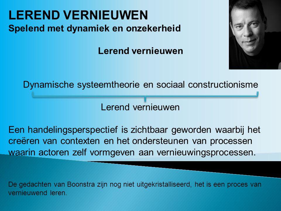 Dynamische systeemtheorie en sociaal constructionisme