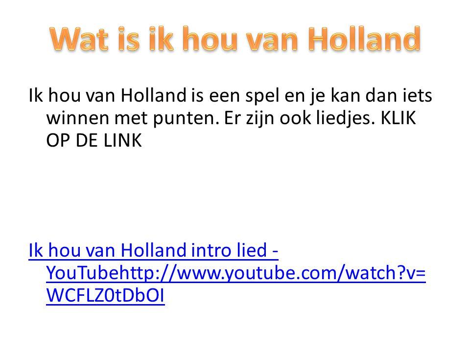 Wat is ik hou van Holland