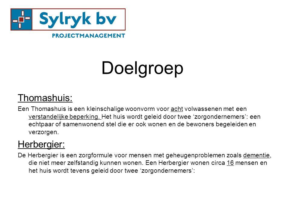 Doelgroep Thomashuis: Herbergier: