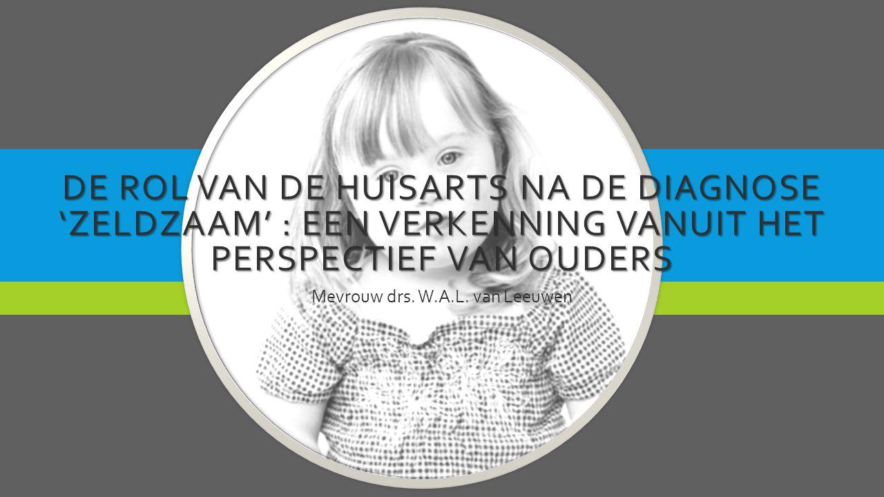Mevrouw drs. W.A.L. van Leeuwen
