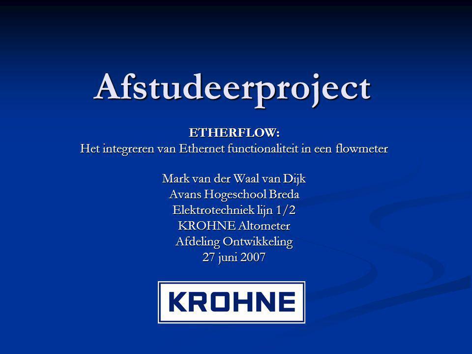 Afstudeerproject ETHERFLOW: