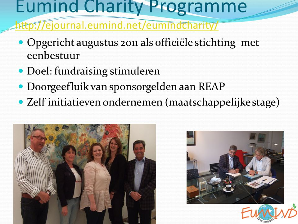 Eumind Charity Programme http://ejournal.eumind.net/eumindcharity/