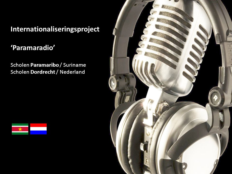 Internationaliseringsproject 'Paramaradio'