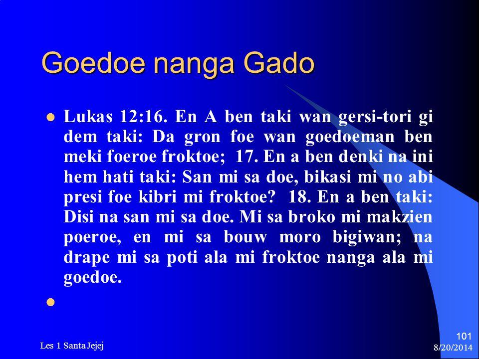 Goedoe nanga Gado