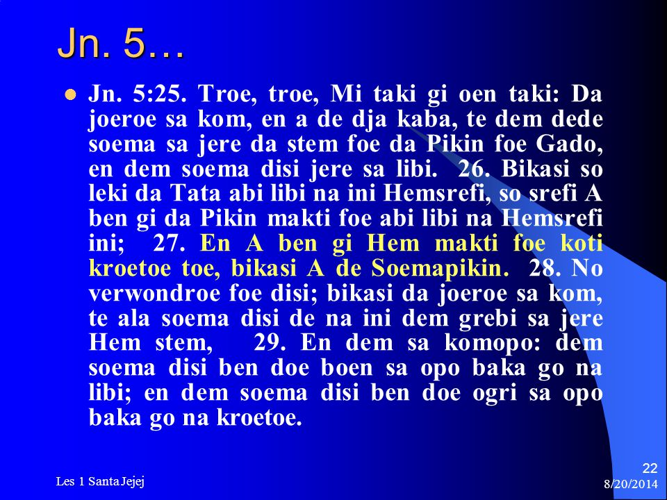 Jn. 5…