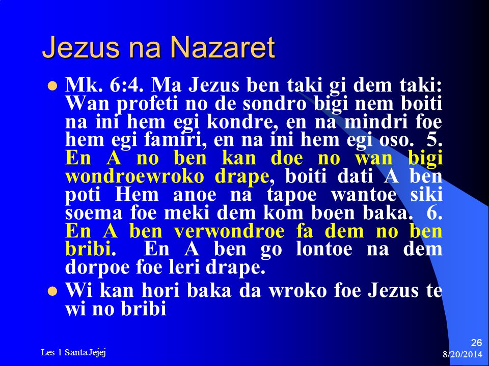 Jezus na Nazaret