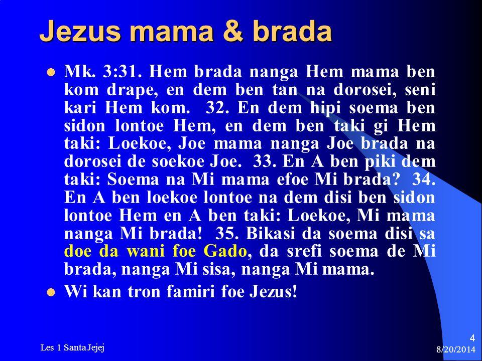 Jezus mama & brada