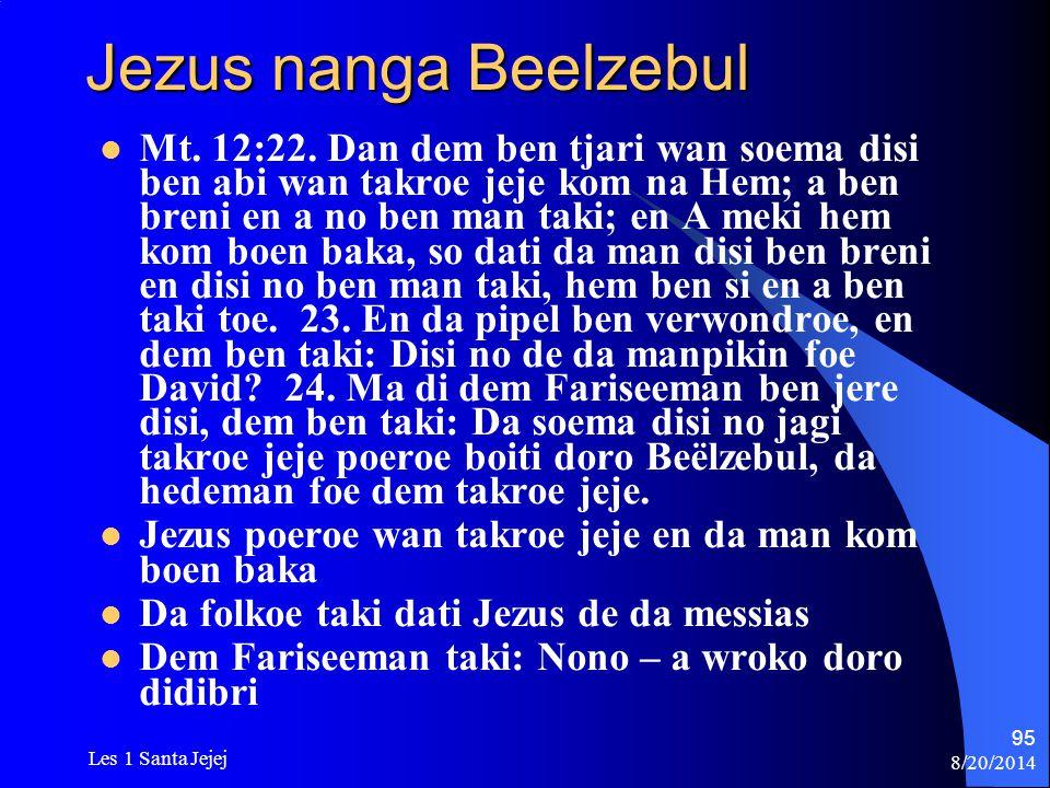 Jezus nanga Beelzebul