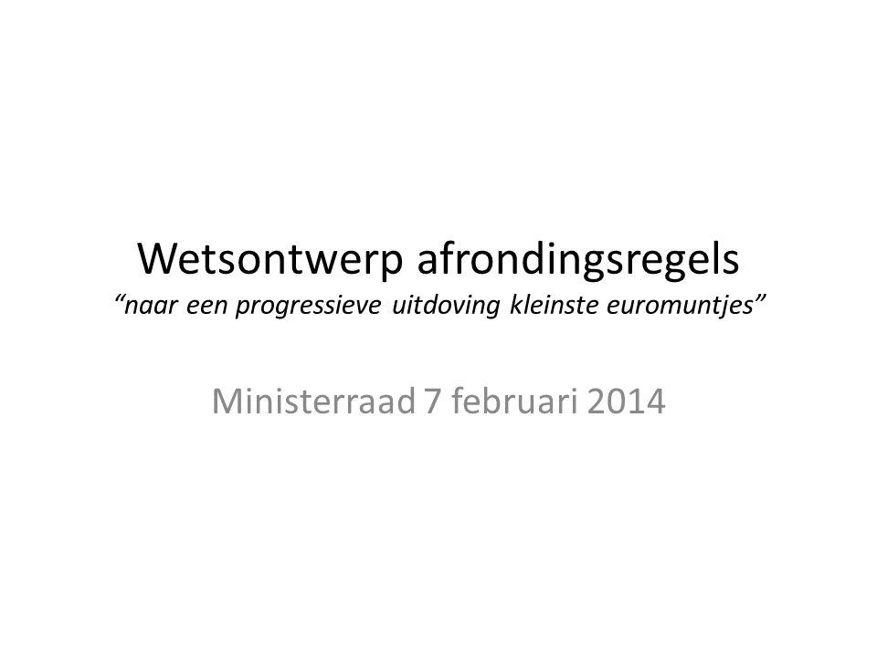 Ministerraad 7 februari 2014