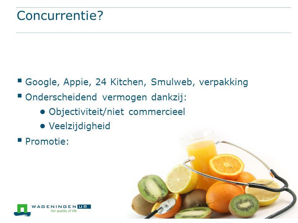 Concurrentie Google, Appie, 24 Kitchen, Smulweb, verpakking