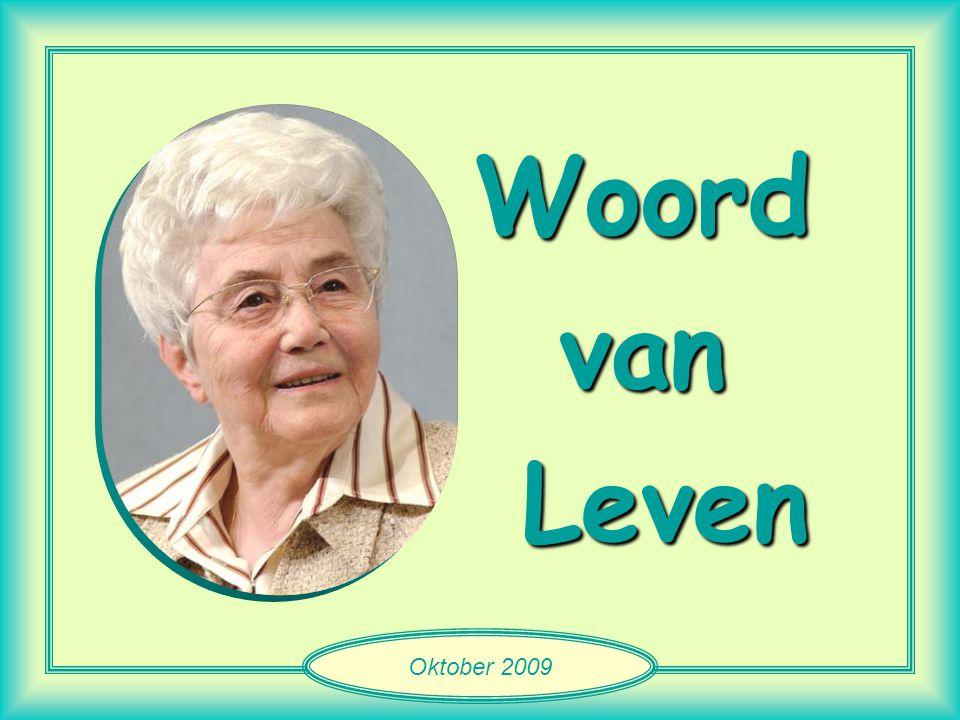 Woord van Leven Oktober 2009