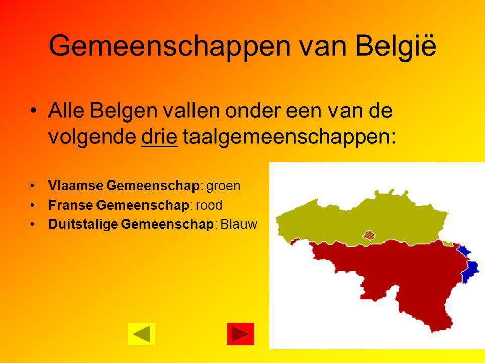 Gemeenschappen van België