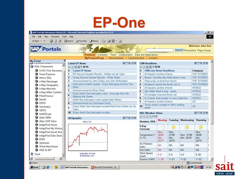 EP-One Definitie.