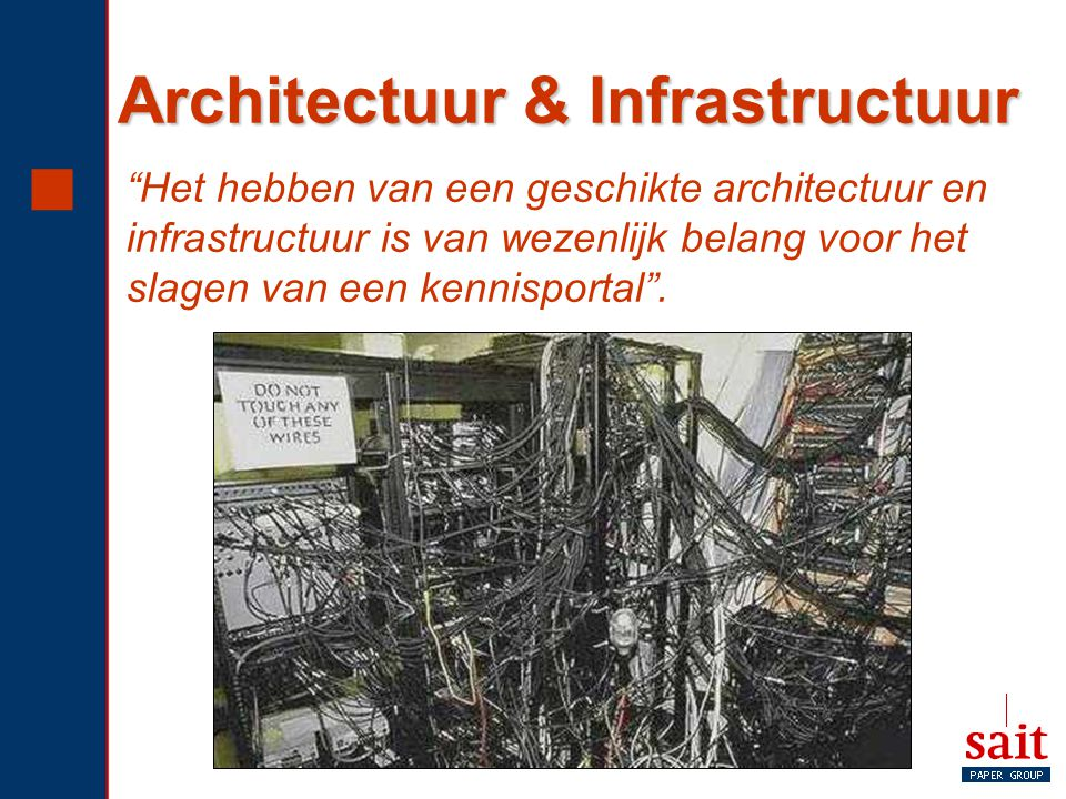 Architectuur & Infrastructuur