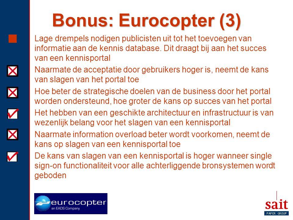 Bonus: Eurocopter (3)