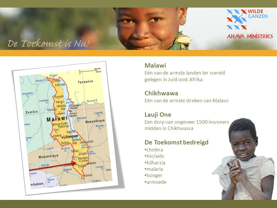 Malawi Chikhwawa Lauji One De Toekomst bedreigd