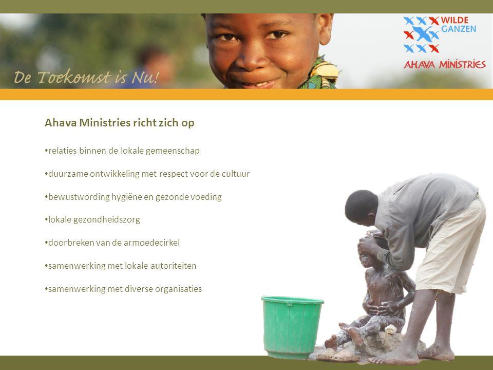 Ahava Ministries richt zich op