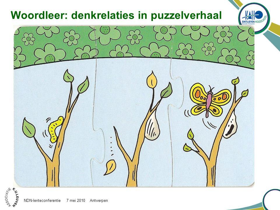 Woordleer: denkrelaties in puzzelverhaal