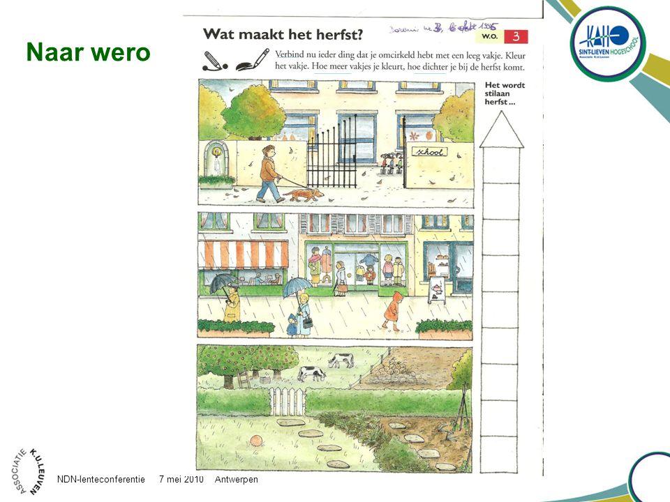 Naar wero NDN-lenteconferentie 7 mei 2010 Antwerpen