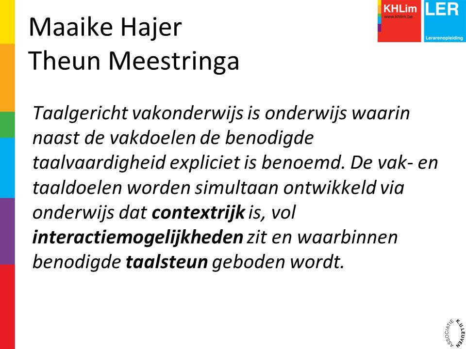 Maaike Hajer Theun Meestringa