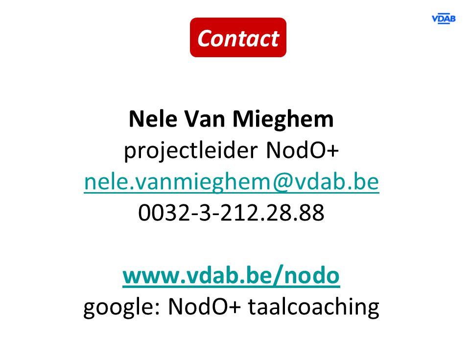 google: NodO+ taalcoaching