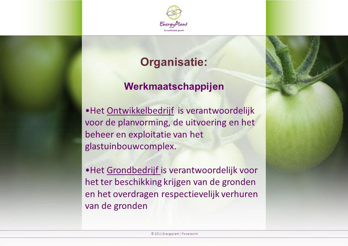 Organisatie: Werkmaatschappijen