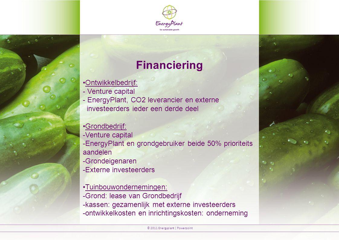 Financiering Ontwikkelbedrijf: Venture capital