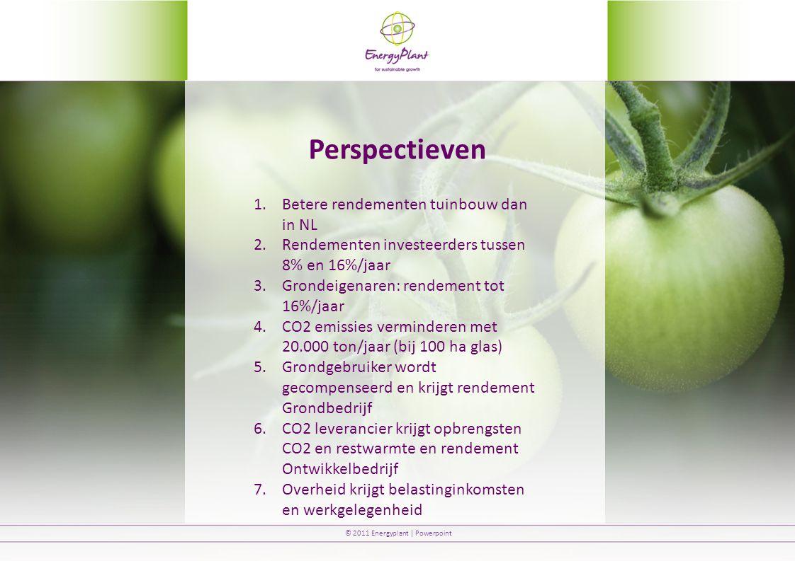 Perspectieven Betere rendementen tuinbouw dan in NL