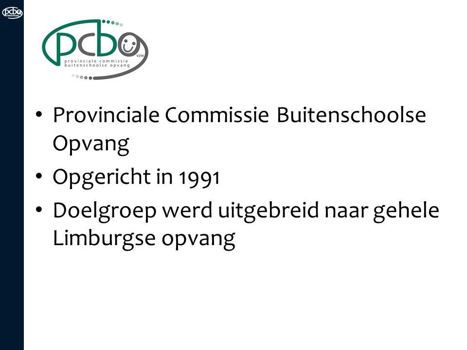 Provinciale Commissie Buitenschoolse Opvang