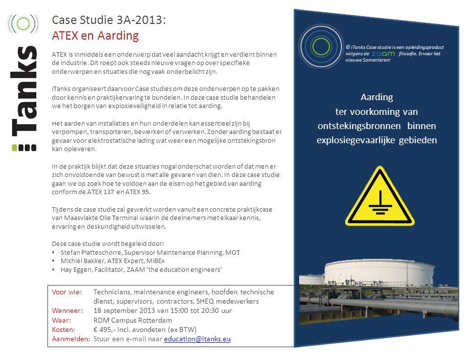 Case Studie 3A-2013: ATEX en Aarding