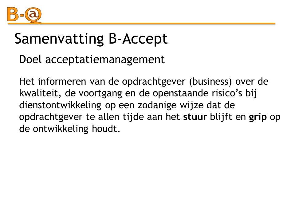 Samenvatting B-Accept