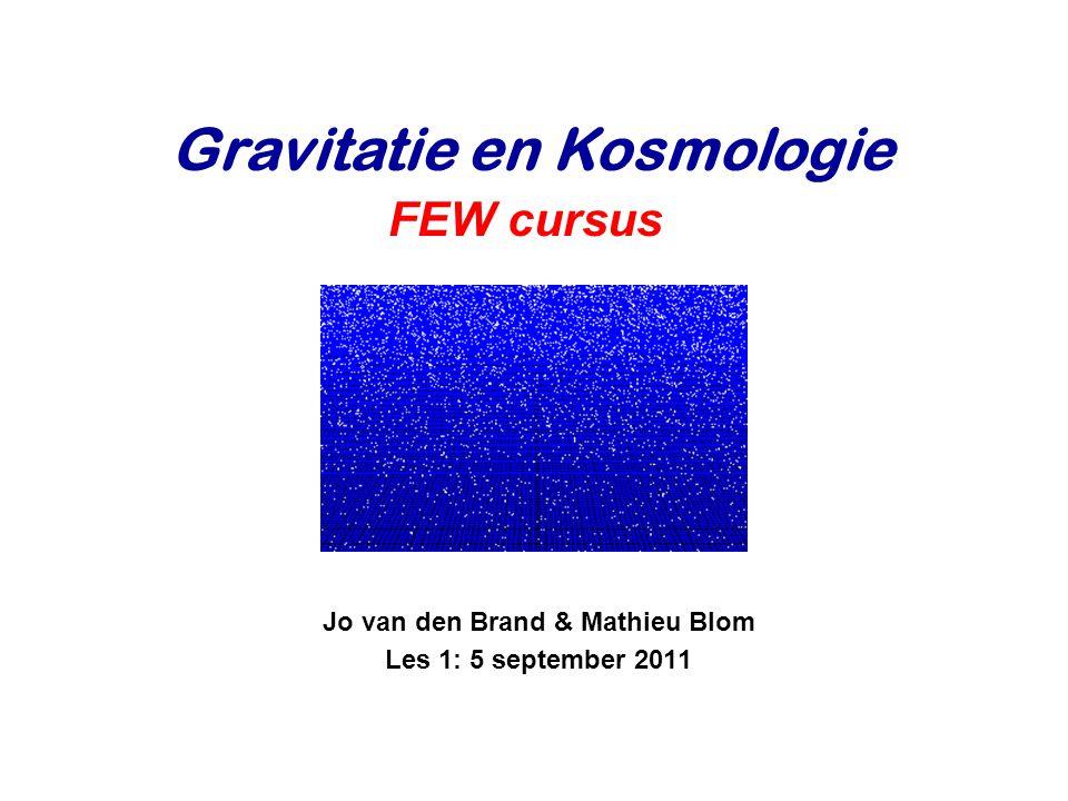 Jo van den Brand & Mathieu Blom Les 1: 5 september 2011
