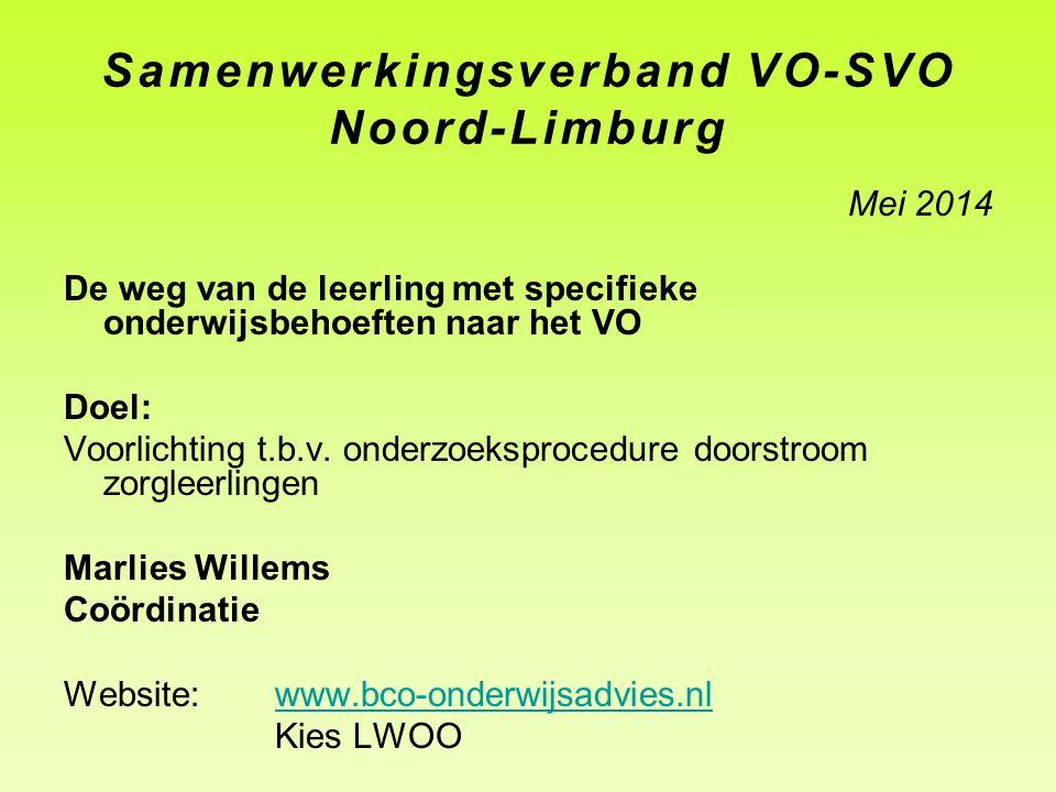 Samenwerkingsverband VO-SVO Noord-Limburg