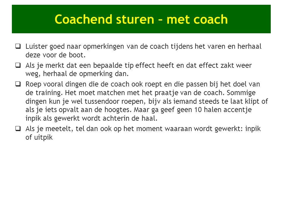 Coachend sturen – met coach